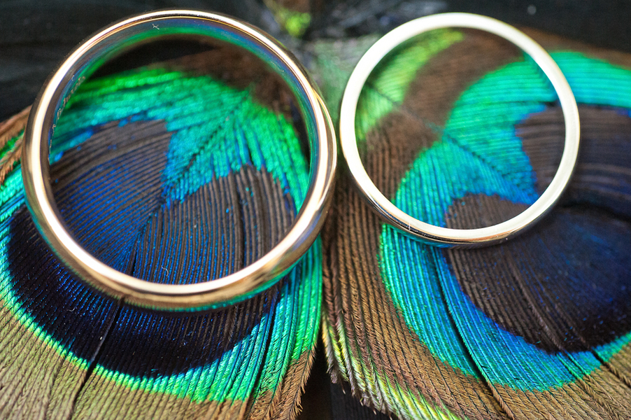 Beauty, Feathers, Rings, Peacock, Feather, Lauren paul