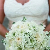 white, ivory, Bouquet, Bridal, Lauren paul