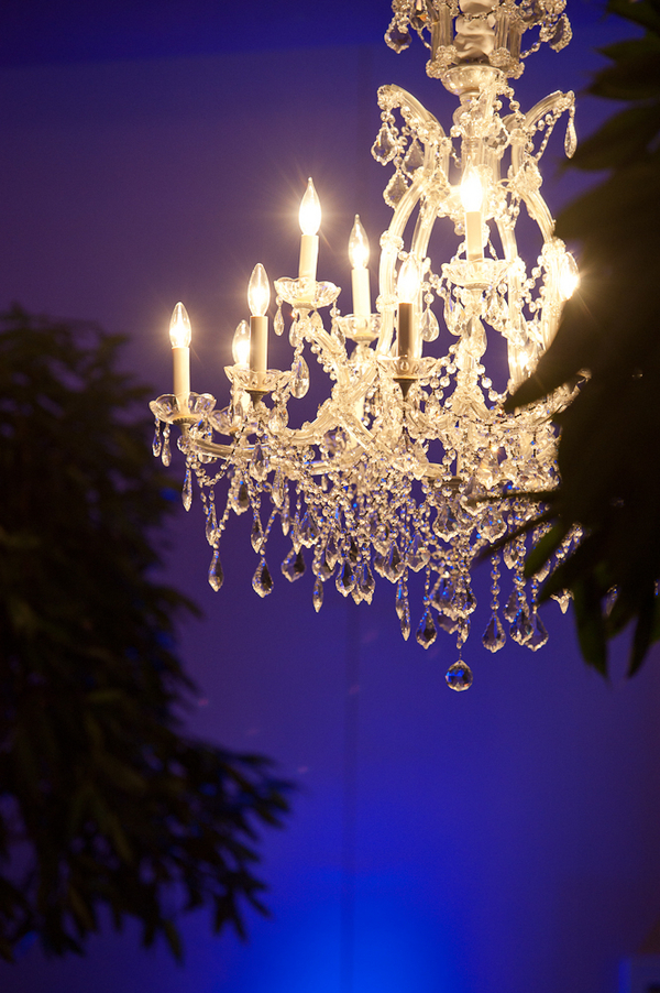 Lighting, Chandelier, Uplighting, Indigo, Lauren paul