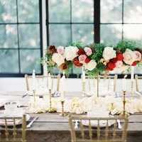 red, green, gold, Centerpiece, Romantic, Elegant, Sophisticated, Décor, Love poems styled wedding