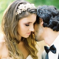 Beauty, Jewelry, Tiaras, Wavy Hair, Long Hair, Bride, Groom, Hair, And, Long, Wavy, Tiara, Honey, Twigs, Love poems styled wedding