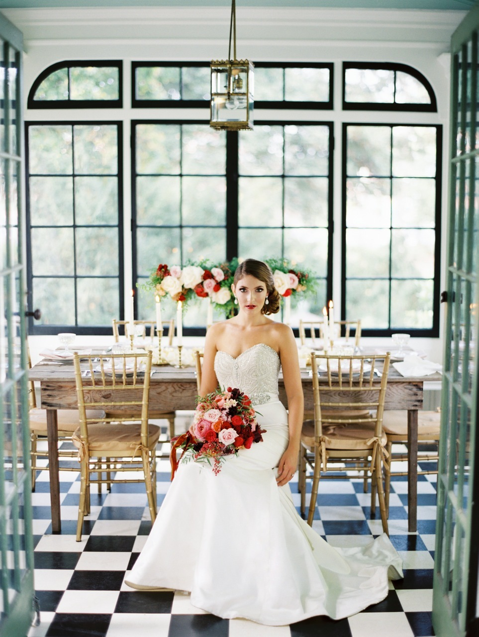 Reception, Flowers & Decor, red, Portrait, Bridal, Floor, Crimson, Checkered, Love poems styled wedding