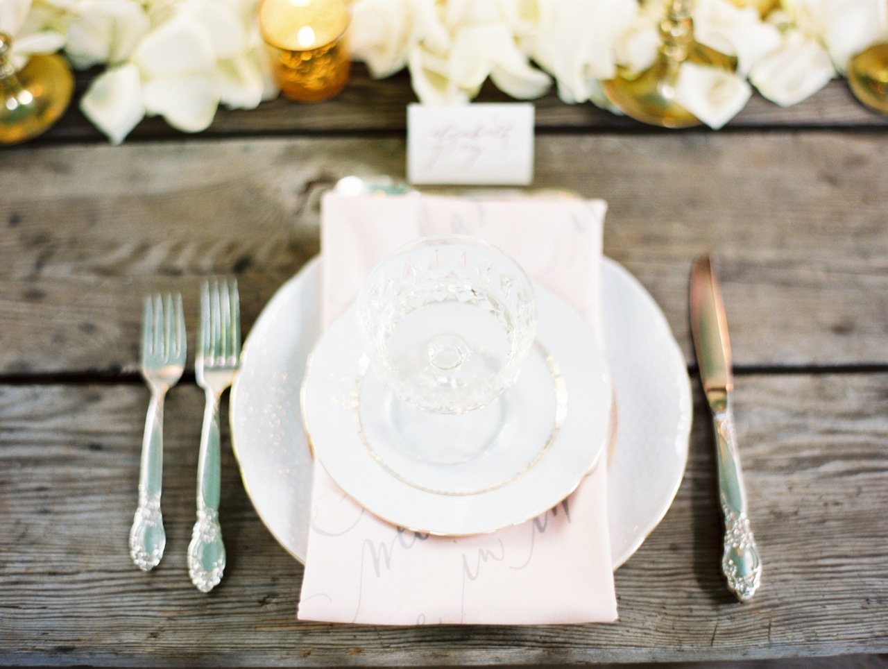 Calligraphy, Napkin, Place, Setting, Love poems styled wedding