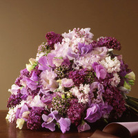Flowers & Decor, purple, green, Flowers
