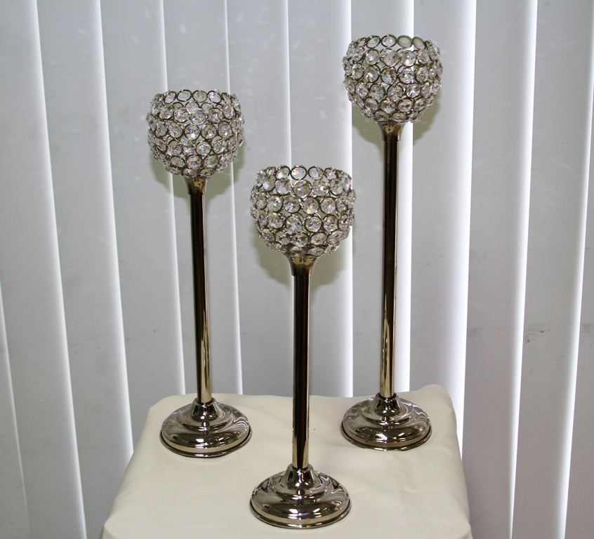 Reception, Flowers & Decor, Bling, Candleholder