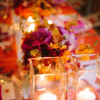 Reception, Flowers & Decor, Destinations, orange, Candles, Destination, Hawaiian, Exotic, Candlelight, Claire jing