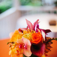 Reception, Flowers & Decor, Destinations, orange, red, Flowers, Destination, Hawaiian, Exotic, Claire jing