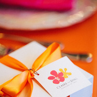 Favors & Gifts, Destinations, orange, red, favor, Gift, Destination, Hawaiian, Exotic, Claire jing