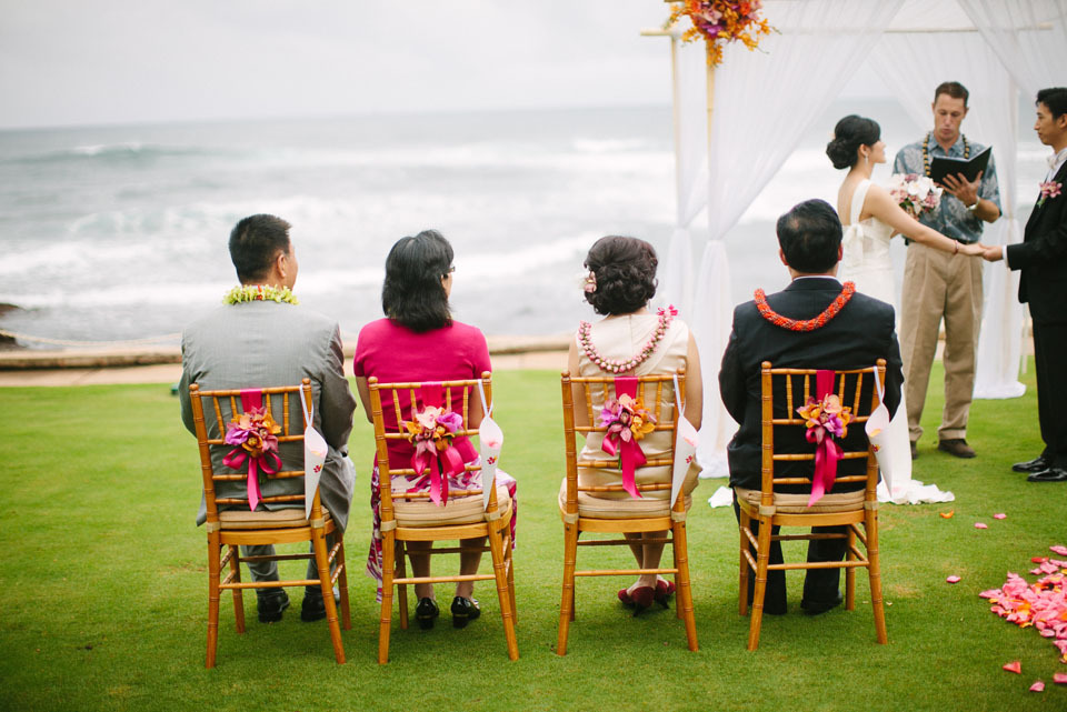 Ceremony, Flowers & Decor, Destinations, orange, red, Tables & Seating, Destination, Chairs, Hawaiian, Exotic, Claire jing