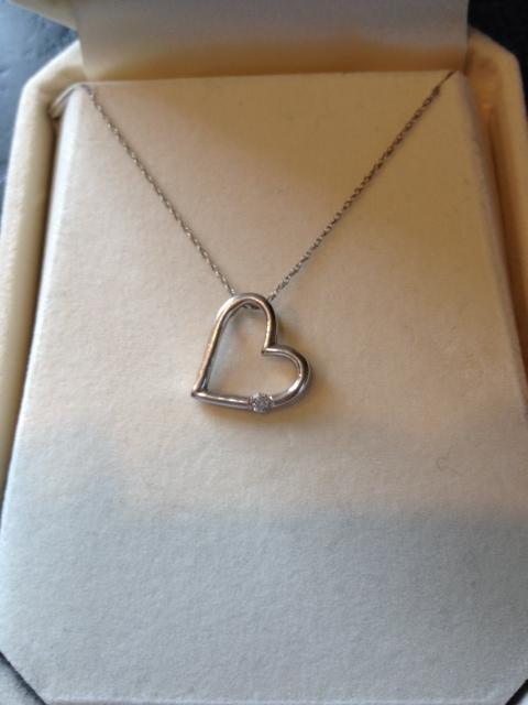 Jewelry, Necklaces, Necklace, Heart