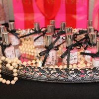 Favors & Gifts, Bridesmaids, Bridesmaids Dresses, Fashion, pink, black, silver, Favors