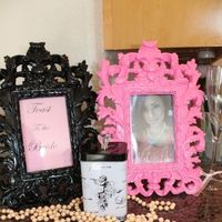 pink, black, Bridal, Shower