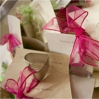 Reception, Flowers & Decor, Favors & Gifts, pink, green, Favors