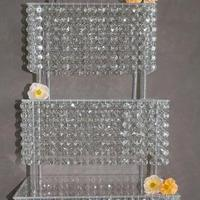 DIY, Reception, Flowers & Decor, Decor, Cakes, cake, Wedding, Crystal, Stand, Bling, Crystals