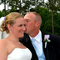 Ceremony, Flowers & Decor, white, purple, Ceremony Flowers, Bride Bouquets, Bride, Flowers, Our