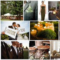 green, brown, Inspiration board