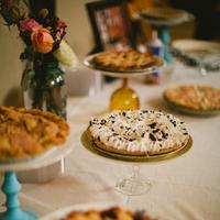 Dessert, Buffet, Autumn, Handmade, Lds, Pies, Juliet stuart