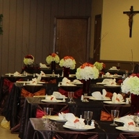 Ceremony, Reception, Flowers & Decor, orange, red, brown, Inspiration board