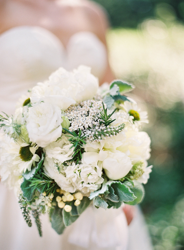 ivory, green, Summer, Bouquet, Organic, Colleen zachary