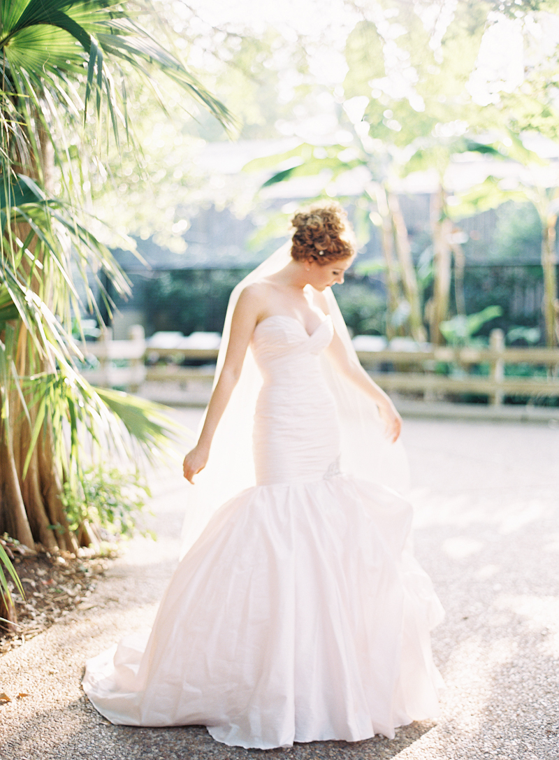 Bride, Gown, Trumpet, Ines, Santo, Blush, Di, Naomi rachel