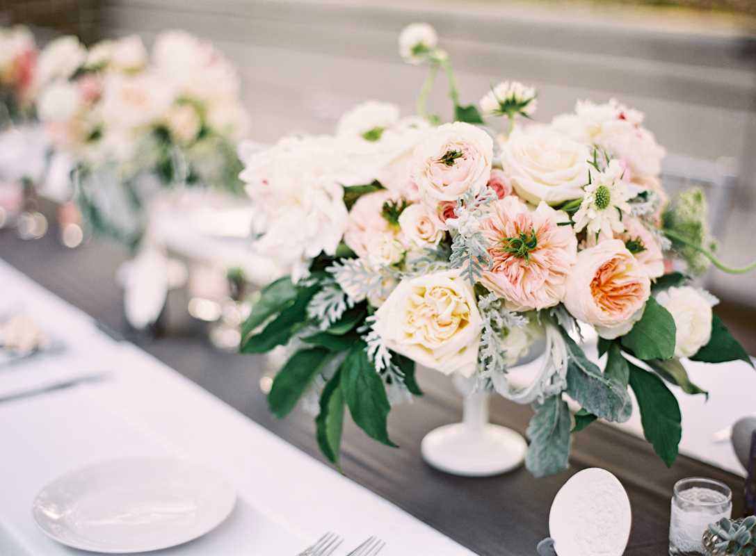 Flowers & Decor, Centerpieces, Garden, Roses, Table, Peonies, Runner, Naomi rachel