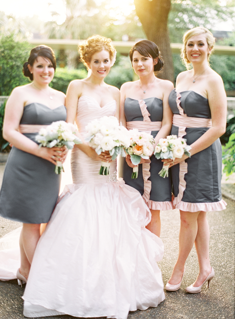 pink, Party, Grey, Bridal, Bouquets, Ruffles, Naomi rachel