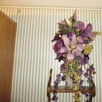 Flowers & Decor, purple, green, Bride Bouquets, Flowers, Bouquet