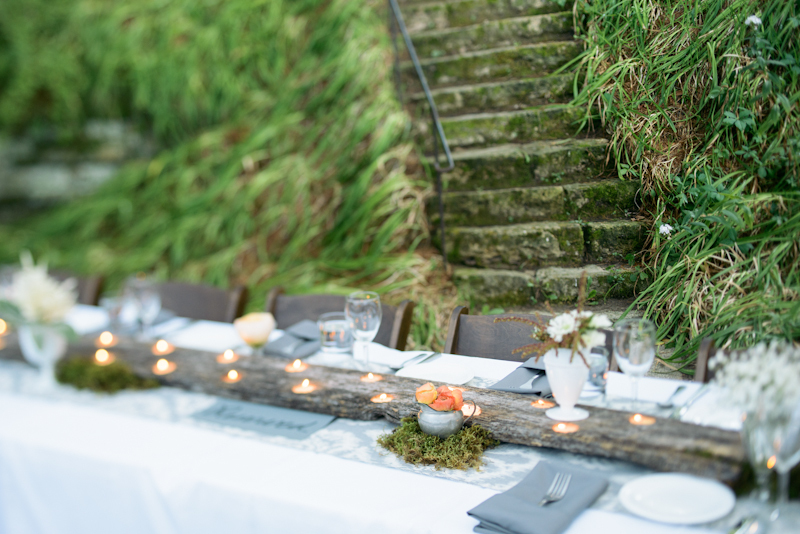 Reception, Flowers & Decor, Rustic, Lighting, Rustic Wedding Flowers & Decor, Moss, Tabletop, Candlelight, Lissa paul