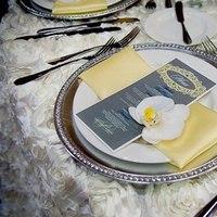 Reception, Flowers & Decor, white, yellow