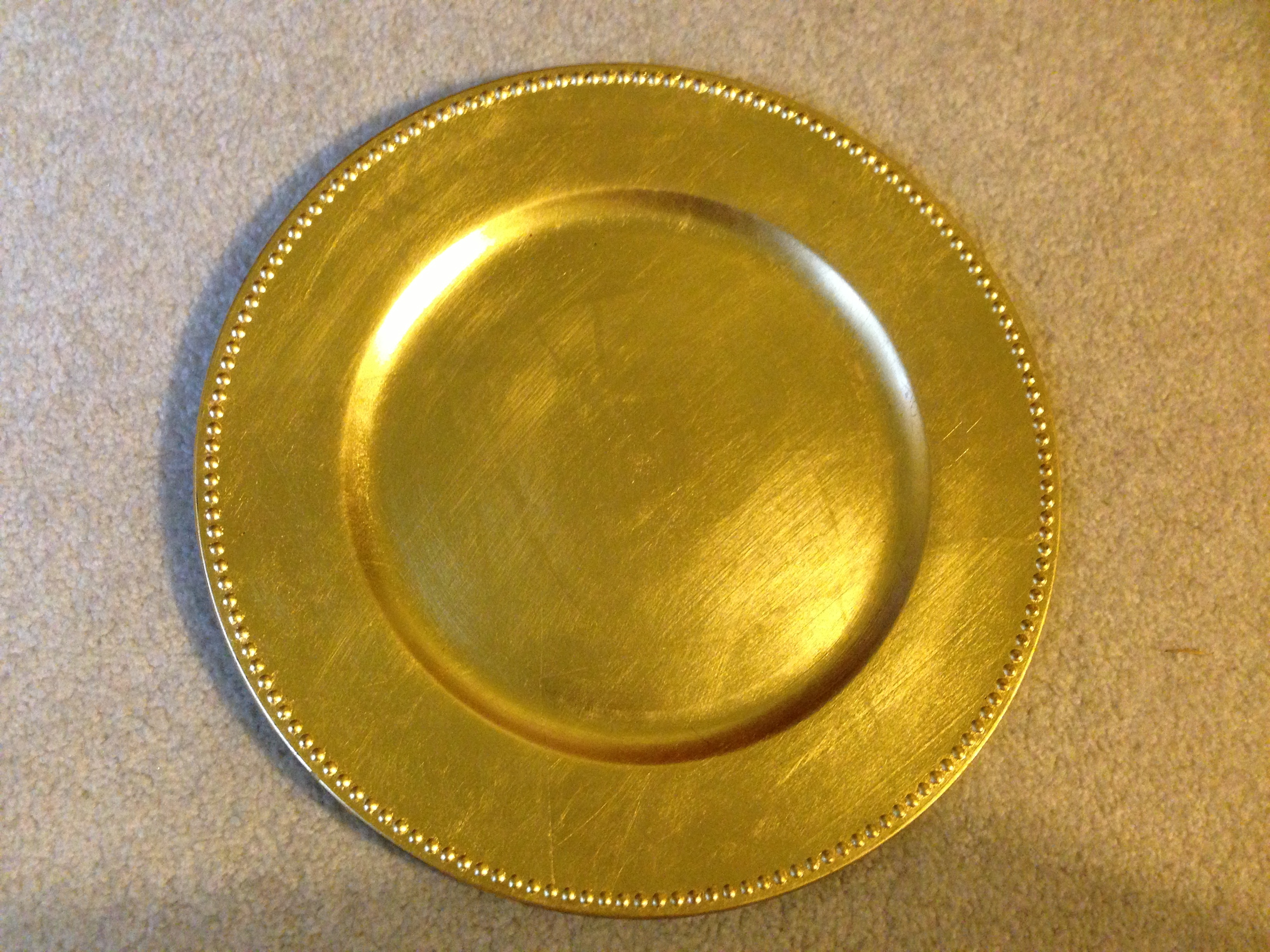 Reception, Flowers & Decor, Decor, Registry, gold, Place Settings, Charger, Plate