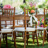 Reception, Flowers & Decor, Tables & Seating, Bride, Groom, And, Chairs, Florals, Décor, Jessica michael