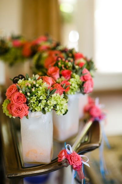 Bridesmaids, Bridesmaids Dresses, Fashion, pink, green, Roses, Bouquets, Chalinee craig