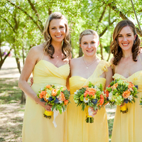 Fashion, yellow, Bridesmaid, Amsale, Dresses, Jessica michael