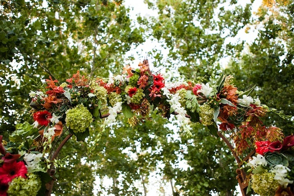 Ceremony, Flowers & Decor, green, Outdoor, Arch, Hydrangeas, Chalinee craig