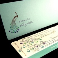 Stationery, Invitations, Pass, Boarding, Invites, Peacock
