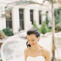 Veils, Fashion, white, Bride, Veil, Florida, Karina mike