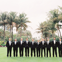 Fashion, green, black, Men's Formal Wear, Groomsmen, Outdoor, Tuxedo, Palms, Karina mike