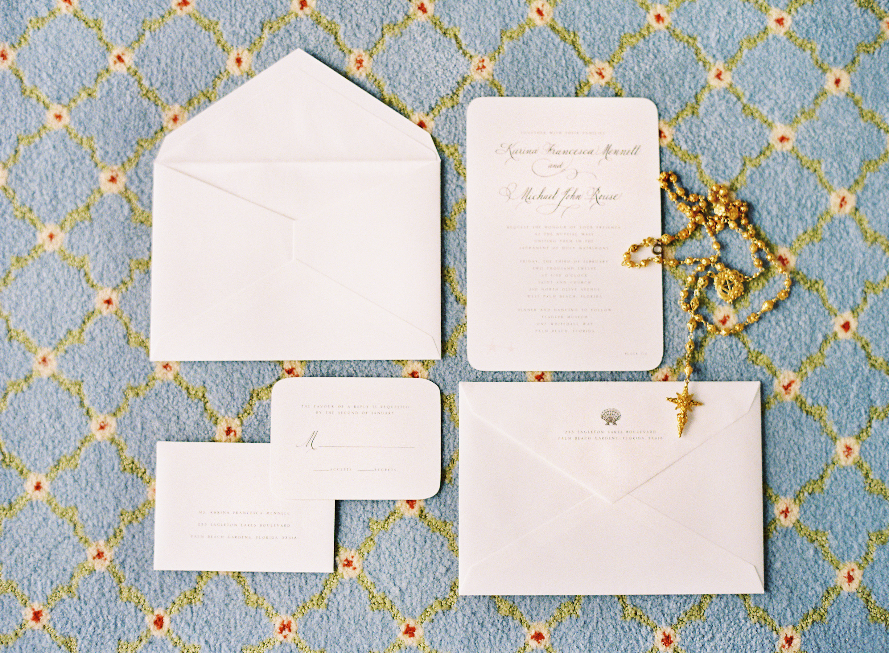 Calligraphy, Stationery, white, Invitations, Shells, Karina mike