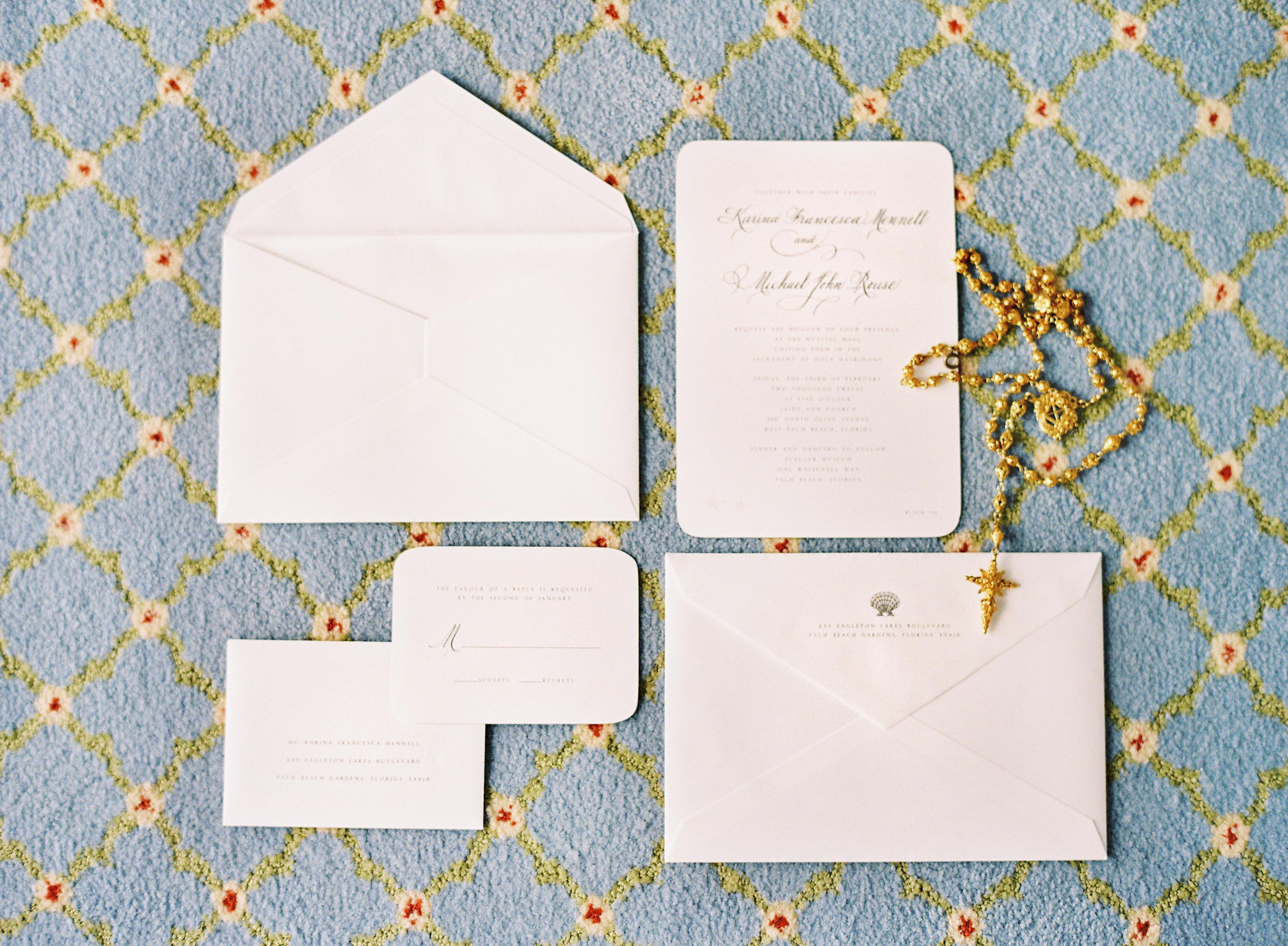 Calligraphy, Stationery, white, Invitations, Shells, Karina mike