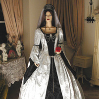 Wedding Dresses, Fashion, white, red, black, silver, dress, Gothic, Inspiration board