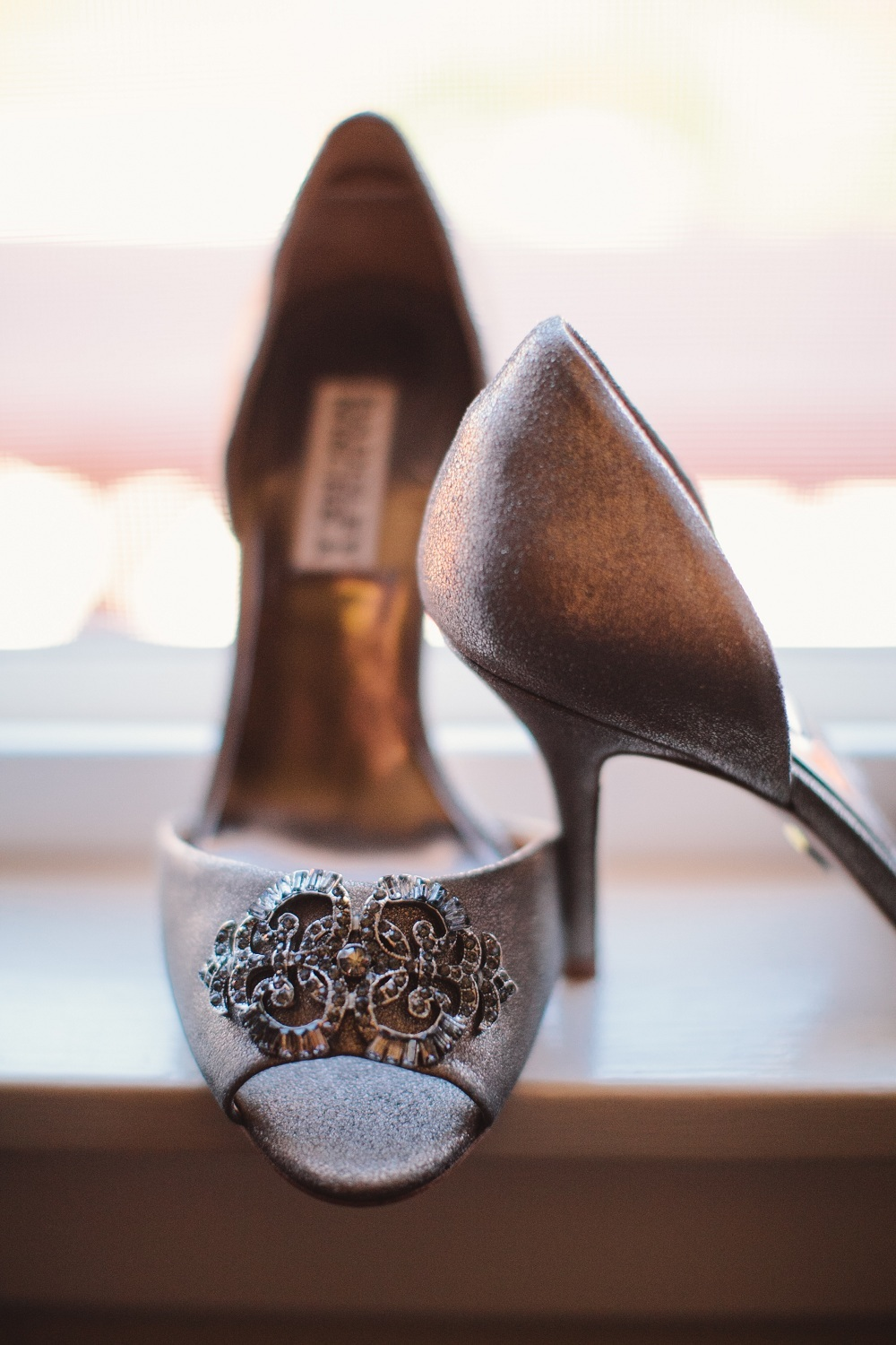 Shoes, Fashion, Grey, Bridal, Heels, Badgley, Mischka, Wendy jason