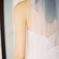 Veils, Fashion, white, Bride, Veil, Karina mike