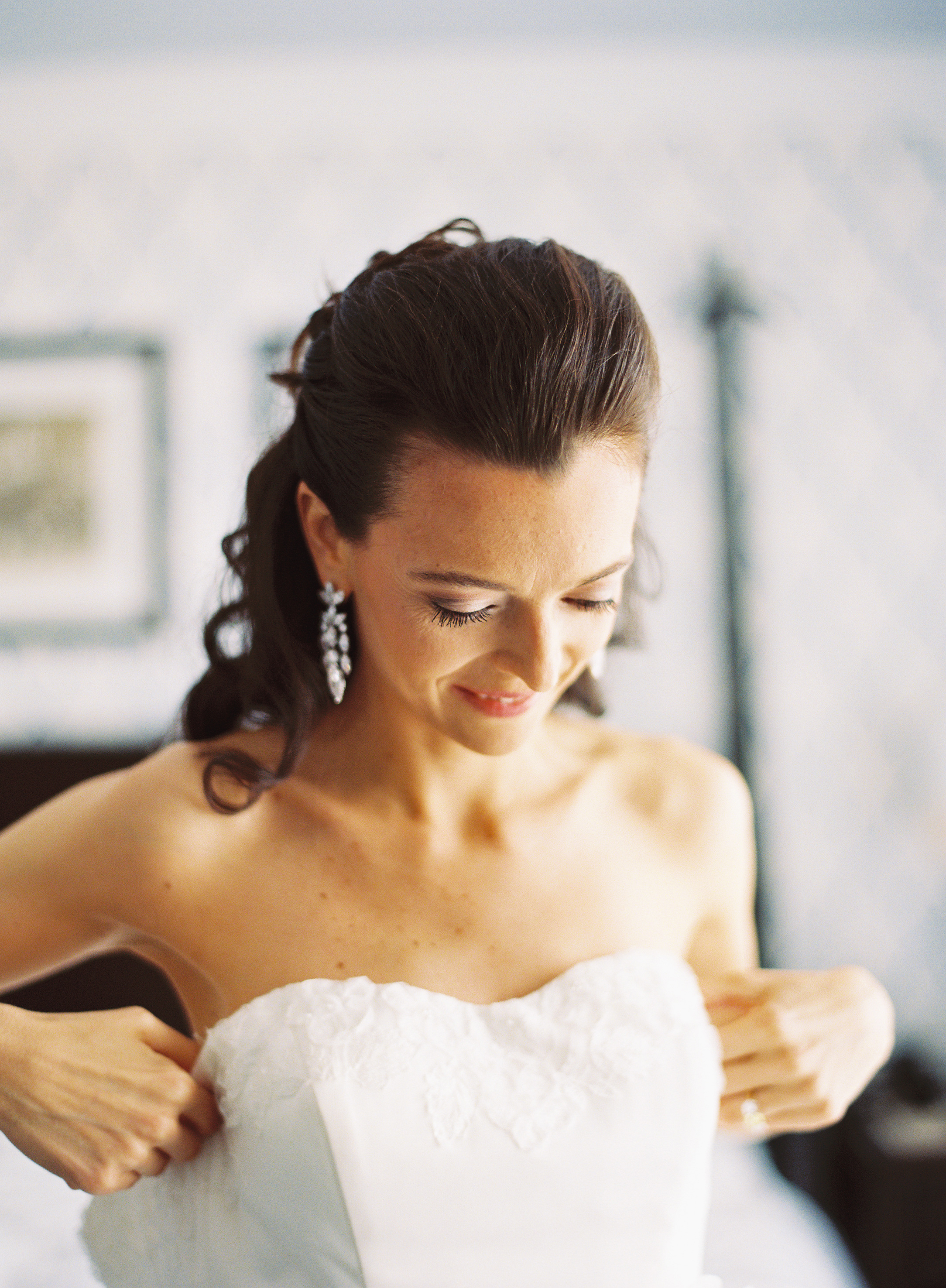 Beauty, Jewelry, white, Earrings, Bride, Gown, Hair, Karina mike