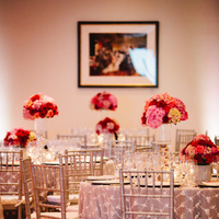 Flowers & Decor, pink, red, silver, Centerpieces, Tables & Seating, Roses, Chairs, Linens, Hydrangeas, Crimson, Wendy jason