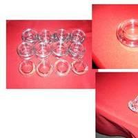 Reception, Flowers & Decor, Centerpieces, Centerpiece, Candle, Vase, Glass, Holder