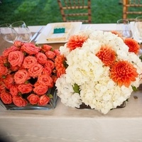 Reception, Flowers & Decor, white, green, Candles, Roses, Menus, Table, Dahlias, Succulents, Pattern, Chevron, Chalinee craig