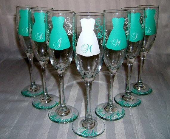Reception, Flowers & Decor, Favors & Gifts, Bridesmaids, Bridesmaids Dresses, Fashion, white, blue, Favors