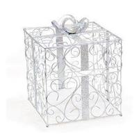 Reception, Flowers & Decor, silver, Inspiration board, Cardbox, Glittery