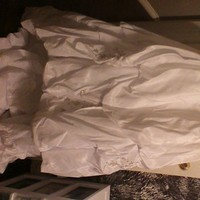 Wedding Dresses, Fashion, white, gold, dress, Bridal, Used, Davids, 9v9539