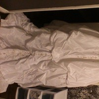 Wedding Dresses, Fashion, white, gold, dress